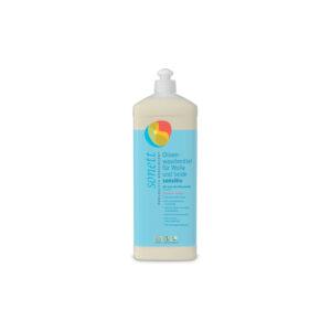 Жидкое средство для стирки изделий из шерсти и шелка на основе оливкового масла Sensitive для чувствительной кожи 1л