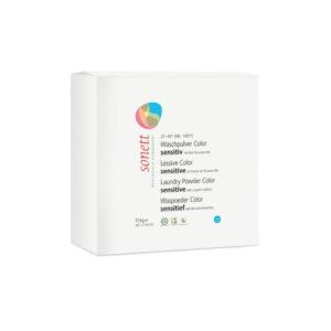 Стиральный порошок для цветных тканей Sensitive для чувствительной кожи 10 кг
