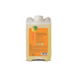 Жидкое средство для стирки изделий из шерсти и шелка на основе оливкового масла 5л