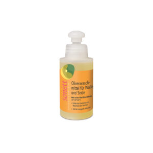 Жидкое средство для стирки изделий из шерсти и шелка на основе оливкового масла 120 мл