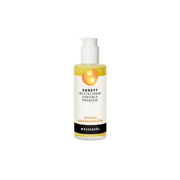 Масло питательное для тела и для массажа (Обыкновенный мирт — цветок Апельсинового дерева) 145 мл