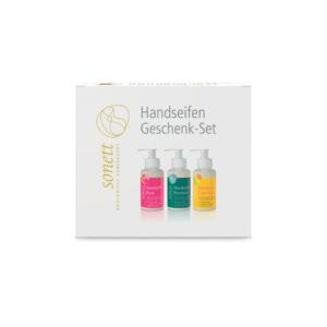 Подарочный набор из мыл для рук (Календула, Розмарин, Роза) 3х110 мл